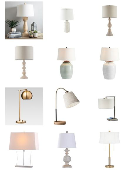 These are some of my favorite lamps!  #lamps #homedecor    #LTKhome #LTKunder100