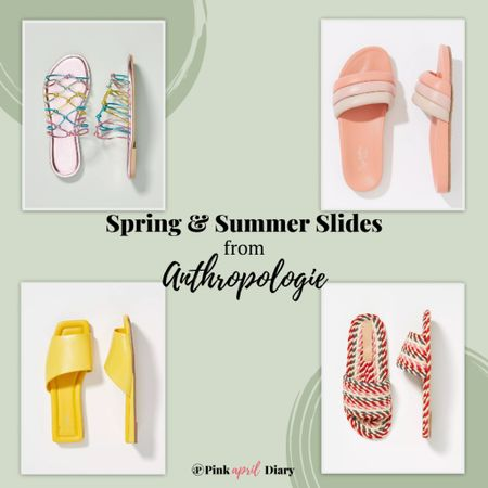 Cute summer slides from Anthropologie! Perfect for everyday as well! http://liketk.it/3bXUV #liketkit @liketoknow.it