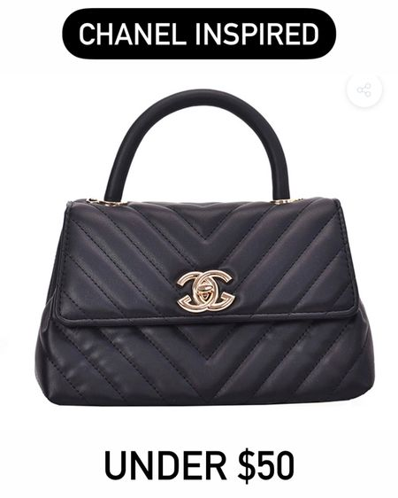Chanel inspired bags! #liketkit @liketoknow.it http://liketk.it/3g5Iv #LTKunder50 #LTKitbag #LTKsalealert