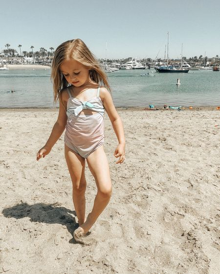 First Beach Day of 2021.  Ready for summer thanks to the cutest swimsuits from @cottononkids http://liketk.it/3dnJl #liketkit @liketoknow.it #LTKtravel #LTKkids #LTKswim @liketoknow.it.family