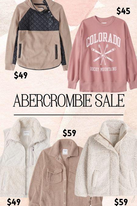 Abercrombie Sherpa sale!