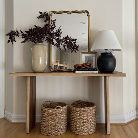 Console table; entry way table ✨   #LTKGiftGuide #LTKhome #LTKSeasonal