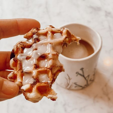 Saturday morning coffee in my favorite mug, with cinnamon rolls made in the mini waffle maker! http://liketk.it/38iiK #liketkit @liketoknow.it #LTKhome #LTKVDay #StayHomeWithLTK