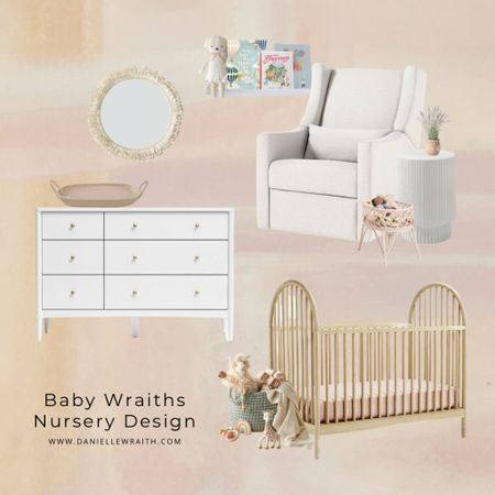 The nursery has officially been designed 🙌🏼 I swear when I start to design a room in our house I always start with a wall treatment ANNNND I finally picked one out. I'm so excited to finally share our nursery design. You know I love a well styled space and baby girls nursery is no exception. When we bought our home last year we were in the thick of struggling with infertility and when I walked into this room, I just knew it would be baby Wraiths nursery. This sweet girl has been a dream come true for our family! http://liketk.it/3ajeX #liketkit @liketoknow.it