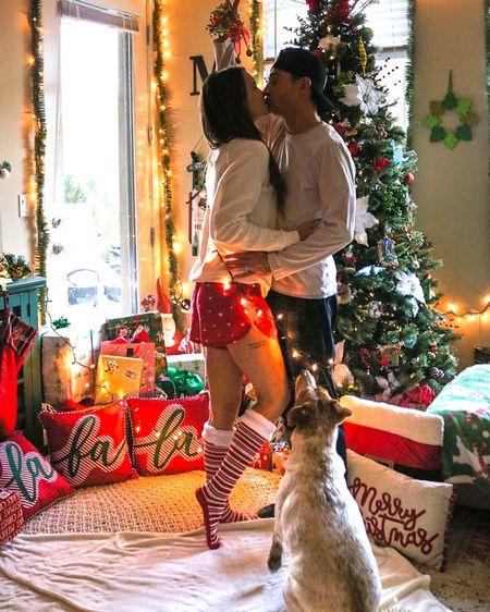 My forever mistletoe kiss 💋 http://liketk.it/34k2P #liketkit @liketoknow.it #LTKunder50 #LTKgiftspo #StayHomeWithLTK