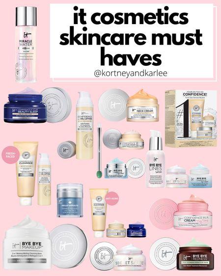 IT Cosmetics 30% off sale! Use the code: LIKEIT  It cosmetics sale | It cosmetics skincare | It cosmetics favorites | It cosmetics makeup | Kortney and Karlee | LTK Summer Sale | #kortneyandkarlee #LTKDay #LTKDay21 #LTKSummerSale #LTKunder50 #LTKunder100 #LTKsalealert #LTKhome #LTKstyletip #LTKSeasonal #LTKbeauty #LTKtravel @liketoknow.it #liketkit http://liketk.it/3htYa