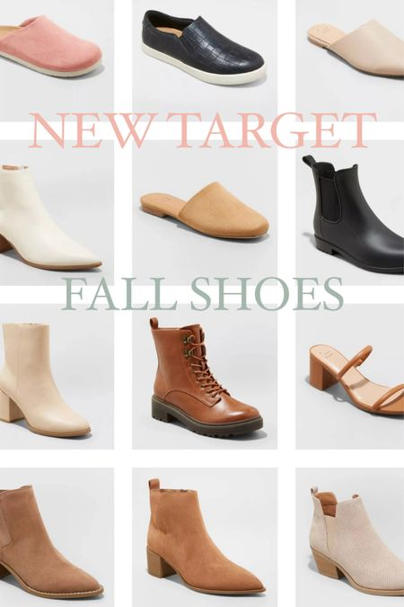 New fall shoes, now at Target