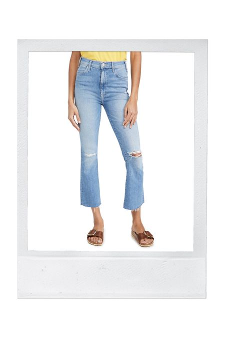 LOVE these jeans for spring/summer. True to size with a teeny bit of stretch for comfort. Thin-ish fabric so they're great for warm weather.