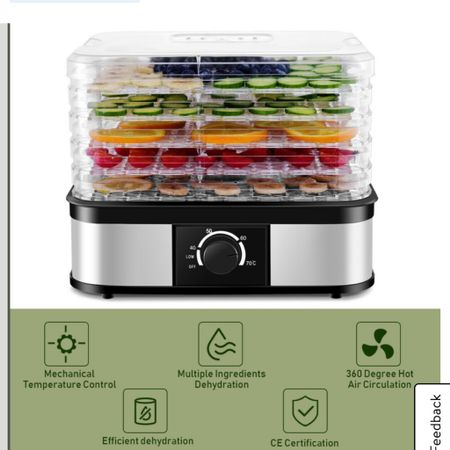 My dehydrator and blender are on sale! You can make HOT soup in my blender too! But milks, soups etc. the dehydrator is amazing for dehydrating apples for baking or snacking! Usually $100 on sale for $69 ☀️ http://liketk.it/2WTfI #liketkit @liketoknow.it #LTKunder100 #LTKhome #LTKsalealert @liketoknow.it.brasil @liketoknow.it.family @liketoknow.it.home @liketoknow.it.europe Shop your screenshot of this pic with the LIKEtoKNOW.it shopping app