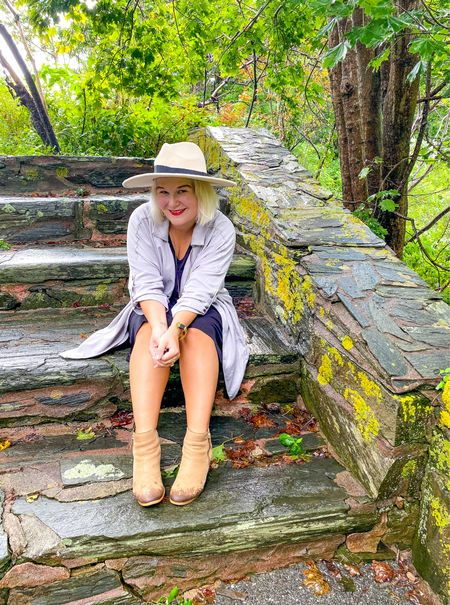 Autumn is in the air.   My favorite fall accessories, a great jacket, a hat and booties!   #LTKSeasonal #LTKshoecrush #LTKstyletip
