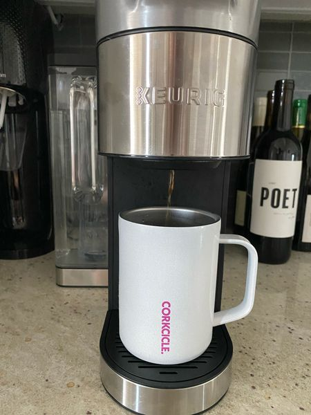 Our new Keurig from HSN has so many awesome features: customizable profiles for 3, adjustable coffee strength & temp, plus my favorite feature…the handle on the water tank FINALLY! @hsn #ad #HSNinfluencer  #LTKGiftGuide #LTKhome #LTKsalealert