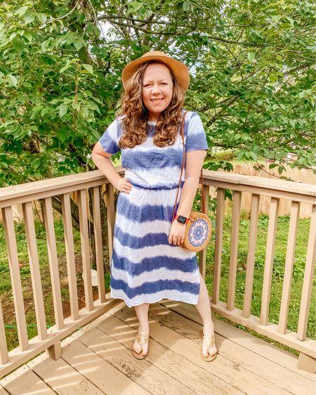 Summer tie dye nautical vibes outfit   Download the LIKEtoKNOW.it shopping app to shop this pic via screenshot @liketoknow.it http://liketk.it/3haSW #liketkit #LTKitbag #LTKshoecrush #LTKunder50