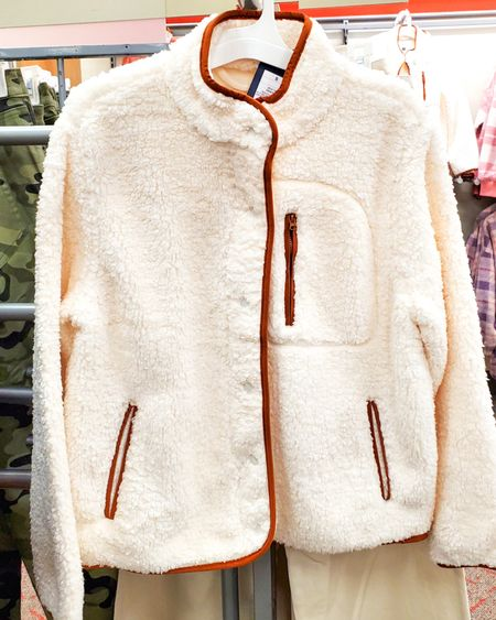 Target Style  Sherpa Jackets          http://liketk.it/3pRrF @liketoknow.it #liketkit #LTKGiftGuide #LTKHoliday #LTKSeasonal #LTKsalealert #LTKshoecrush #LTKtravel #LTKunder50 #LTKworkwear #LTKFall #LTKGifts | Travel Outfits | Teacher Outfits | Back to School | Casual Business | Fall Outfits | Fall Fashion | Pumpkins| Pumpkin | Booties | Boots | Bodysuits | Halloween | Shackets | Plaid Shirts | Plaid Jackets | Activewear | White Sneakers | Sweater Dress | Fall Dresses | Sweater Vests | Cardigans | Sweaters | Faux Leather Pants | Faux Leather Jackets | Coats | Fleece | Jackets | Bags | Handbags | Crossbody Bags | Tote | Wedding Guest Dresses | Gifting | Gift Guide | Gift Ideas | Gift for Her | Mother in Law Gifts |