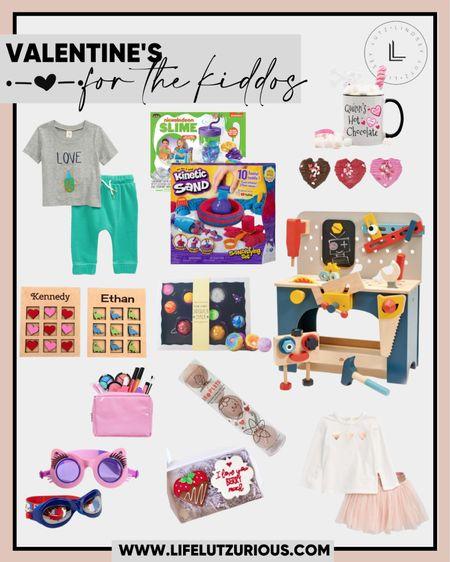 Valentine's Day gifts for kids.  Gift ideas for kid's valentines's day presents. http://liketk.it/37V2b #liketkit @liketoknow.it #LTKSeasonal #LTKVDay #LTKkids