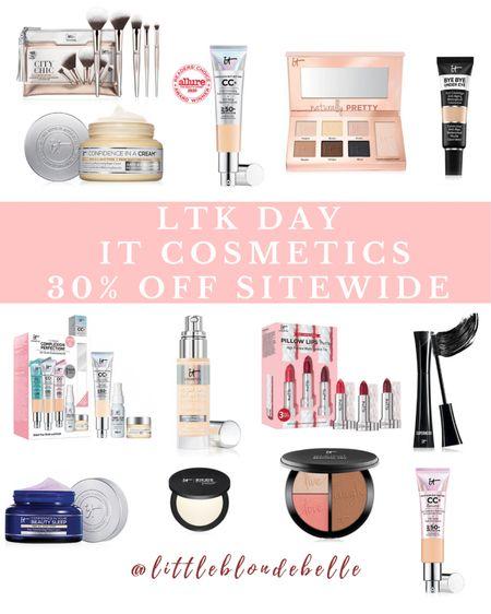 30% OFF SITEWIDE!!! Use code: LIKEIT . . .  http://liketk.it/3h64y #liketkit @liketoknow.it #LTKDay #LTKsalealert #LTKunder50 it cosmetics, LTK day, skincare, skincare routine