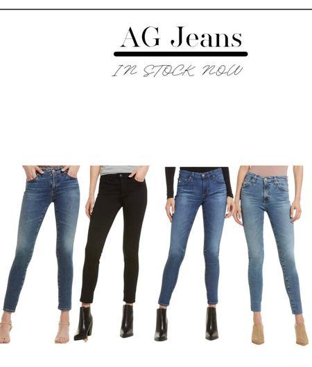 Ag denim jeans in stock in the #nsale #nordstrom   #LTKSeasonal #LTKstyletip #LTKsalealert
