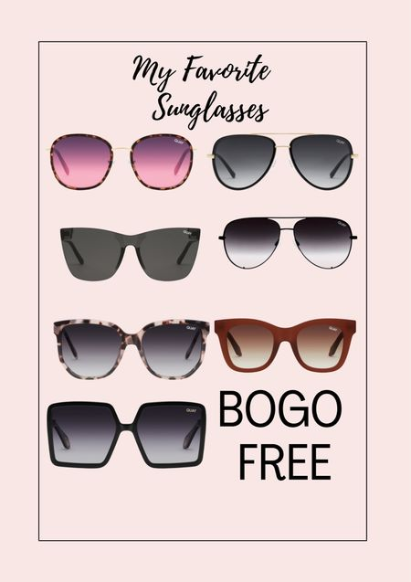 My favorite sunglasses are BOGO FREE!! I have at least 16 pairs ☺️ They make a great gift   #LTKsalealert #LTKstyletip #LTKHoliday