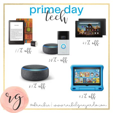 Great prime day deals on tech like kindle, ring doorbells, echo dots, smart home technology and more! Download the LIKEtoKNOW.it shopping app to shop this pic via screenshot #StayHomeWithLTK #LTKsalealert #liketkit @liketoknow.it http://liketk.it/2YGQS