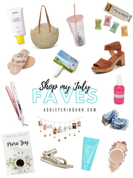 All of my fav finds for July! ❤️❤️❤️ See full post on ashleyeringunn.com!    Shop your screenshot of this pic with the LIKEtoKNOW.it shopping app http://liketk.it/2RZ9b @liketoknow.it #liketkit #LTKbeauty #StayHomeWithLTK #LTKhome @liketoknow.it.family @liketoknow.it.home