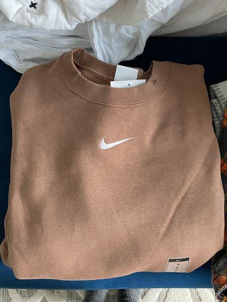 Nike tan sweatshirt   #LTKunder100 #LTKSeasonal #LTKunder50