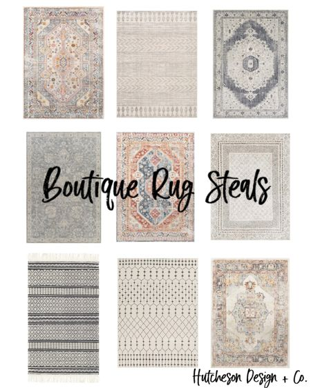 In honor of Labor Day, Boutique Rugs is having a HUGE sale!! • Adding a rug to any room is the perfect way to bring your design together! It helps define the area, adds warmth & another texture to the room. • Here are nine of my favorite Boutique rugs & honestly, i love them all!! Which is your favorite? • • •  http://liketk.it/2W9Rq #liketkit @liketoknow.it #LTKsalealert #LTKhome #LTKstyletip @liketoknow.it.home You can instantly shop all of my looks by following me on the LIKEtoKNOW.it shopping app You can instantly shop all of my looks by following me on the LIKEtoKNOW.it shopping app