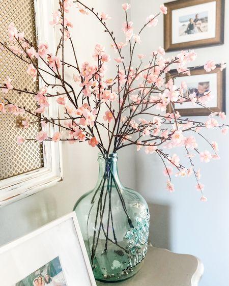 Plum blossom faux floral sprigs make all the difference.  Just add a vase for lovely spring decor.    #liketkit #LTKSpringSale #LTKhome #LTKunder50 @liketoknow.it @liketoknow.it.home http://liketk.it/3c2LZ