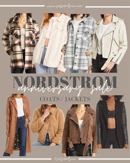 Nordstrom Anniversary Sale Coats and Jackets  #LTKsalealert #LTKSeasonal #LTKunder50