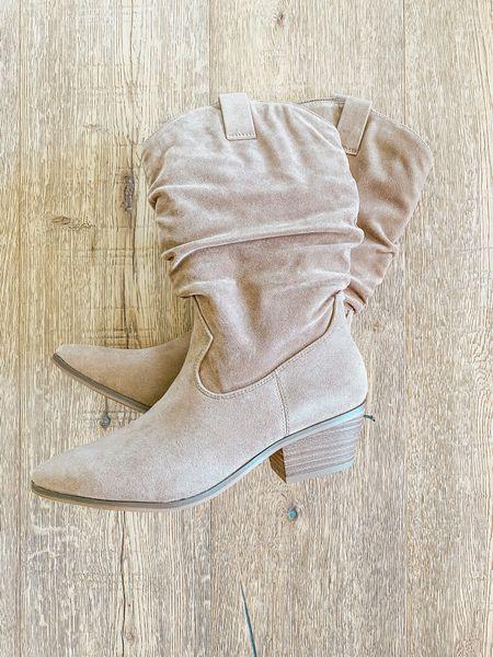 Loveee these Universal Thread boots! $40 and tts  #LTKsalealert #LTKshoecrush #LTKunder50