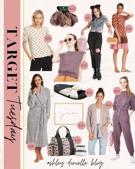 Target Tuesday finds for women! #fashion #slides #scrunchie  #LTKfit #LTKstyletip #LTKhome