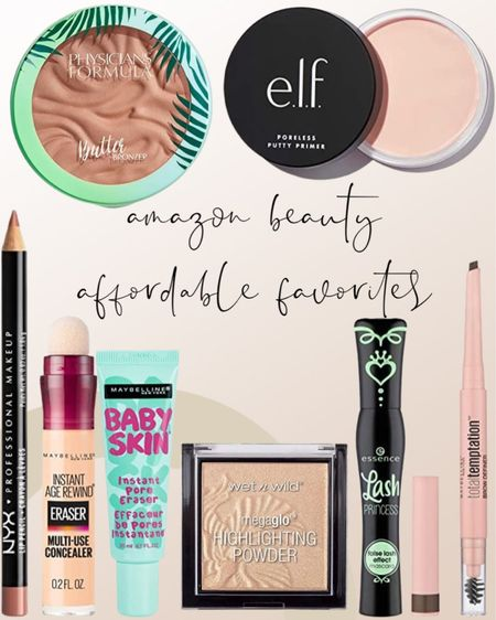Affordable makeup must haves on Amazon beauty! Always reach for this mascara and highlighting powder when I'm getting ready!   #LTKbeauty #LTKstyletip #LTKunder50