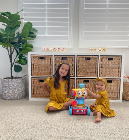 Found this learning robot for the girls and they love it! It's a 4 in 1 and grows from infant to toddler to preschooler!   #LTKfamily #LTKkids #LTKbaby