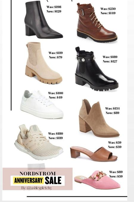 The best shoe finds of the Nordstrom Anniversary Sale! From booties to sneakers and everything in between! Lots of sizes left! Nsale, Nordstrom, fall shoes   #LTKstyletip #LTKunder100 #LTKsalealert