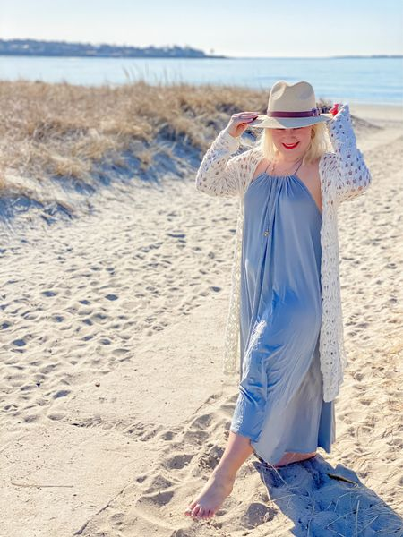 Those spring time vibes  I am obsessed with this dress. It is flowy and comfy while still perfect for a night out.   As sizing is limited I linked a couple similar  styles.   #LTKSeasonal #LTKSpringSale #LTKwedding