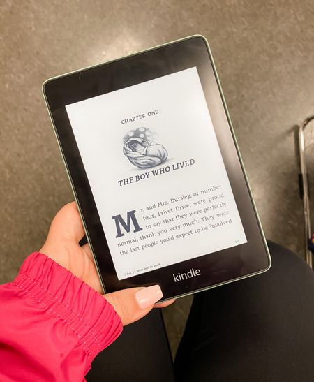 Best gift I've gotten was my Kindle! I've truly missed reading. Today I decided to re,re,re,reread a favorite!    #LTKDay
