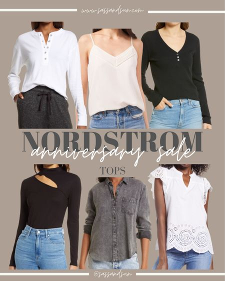Nordstrom Anniversary Sale Tops  #LTKsalealert #LTKunder50 #LTKSeasonal