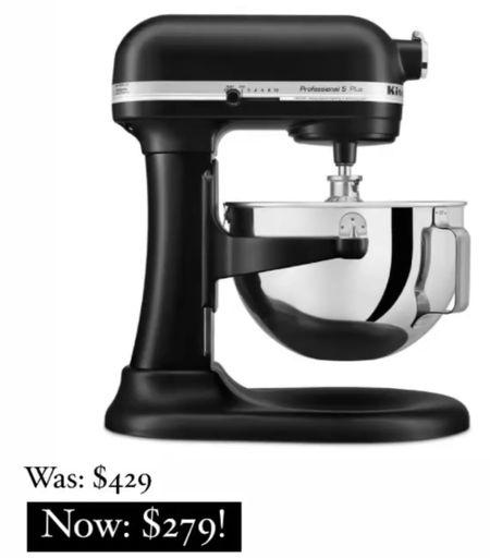 KitchenAide Mixer on major sale!!     #LTKsalealert #LTKGiftGuide #LTKhome
