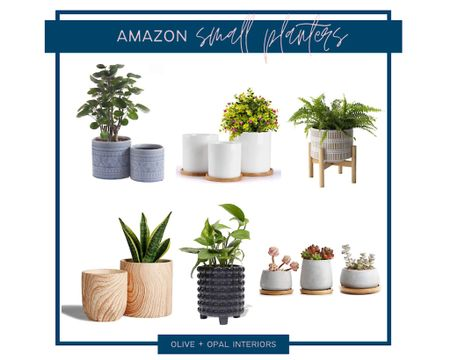 Check out these small, affordable planter from Amazon!  Amazon home, house plants, planters   http://liketk.it/3aLUA #liketkit @liketoknow.it #LTKunder50 #LTKunder100 #LTKhome