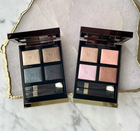 New Eye Shadow Quads by Tom Ford Beauty. Metallic Denim and Rose Prisme.    #LTKbeauty