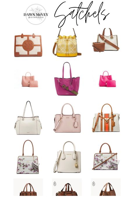 Purse-palooza handbag round-up! 😂 Linking up lots of cute bags just in time for Mother's Day gift-giving or wish-listing! Hope you find something to love! This is group one of my satchel round-up! Lots of different color options on many of these bags so be sure to over to shop the bags to see any other color options available! #purses #handbags  http://liketk.it/3dLpq #liketkit @liketoknow.it