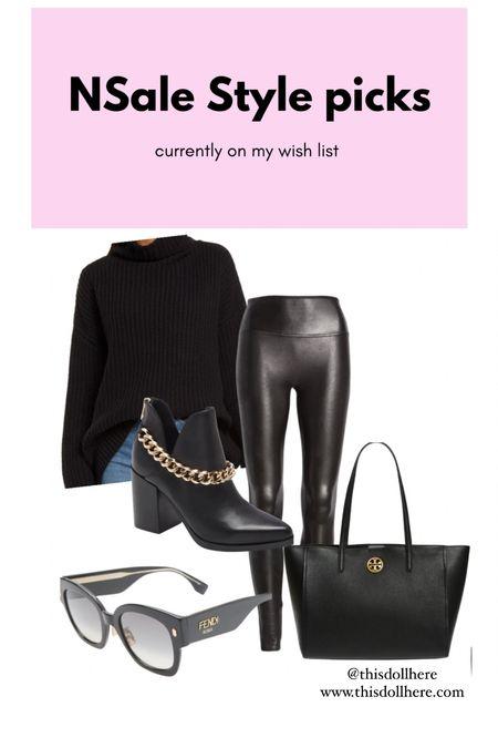 #nsale #anniversarysale #spanx #leggings #oversizedsweater #toryburch #handbag #fendi #sunglasses  #LTKsalealert #LTKSeasonal #LTKworkwear