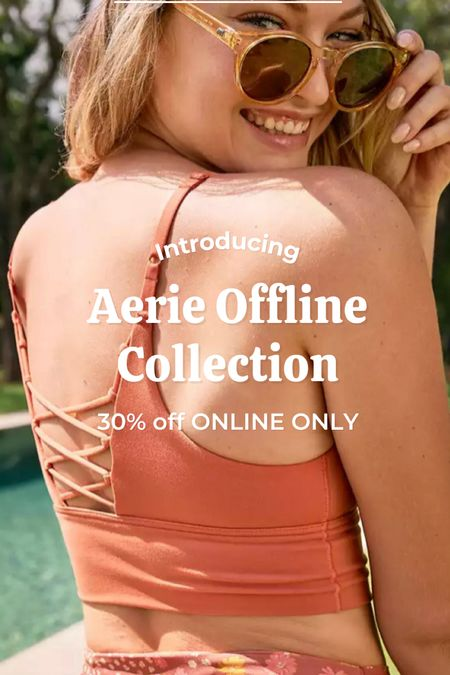Aerie's NEW collection OFFLINE is 30% off today online only!   #LTKstyletip #LTKfit #LTKsalealert