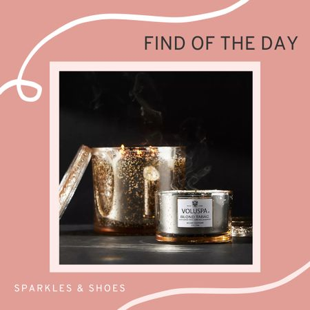My #findoftheday is Voluspa Maison Candle, they smell absolutely divine!  #Anthropologie  #LTKhome