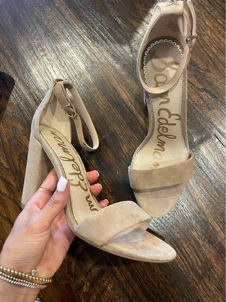 Favorite nude heels size 6.5 under $60  #LTKsalealert #LTKshoecrush #LTKunder100