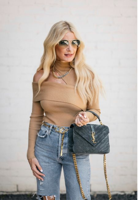 One shoulder wonder ➰ this neutral knit is such a fabulous fall piece! I love the cutout shoulder details and this color will go with everything! It runs tts, I'm wearing an XS.   Follow my shop on the @shop.LTK app to shop this post and get my exclusive app-only content!  #liketkit  @shop.ltk http://liketk.it/3mNuA Follow my shop on the @shop.LTK app to shop this post and get my exclusive app-only content!  #liketkit  @shop.ltk http://liketk.it/3nbRw Follow my shop on the @shop.LTK app to shop this post and get my exclusive app-only content!  #liketkit  @shop.ltk http://liketk.it/3nHUZ  #LTKitbag #LTKstyletip #LTKSeasonal