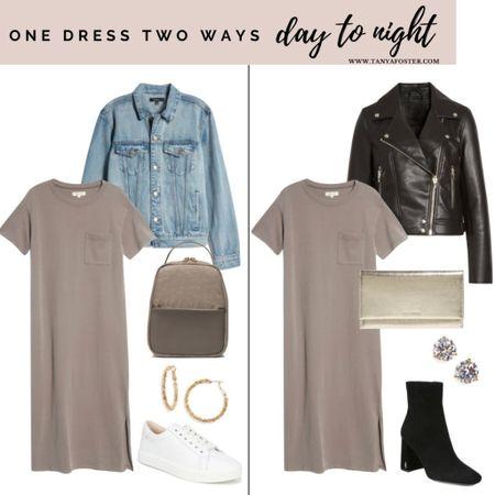 One dress two ways! Get this look on SALE   #LTKSale #LTKstyletip #LTKsalealert