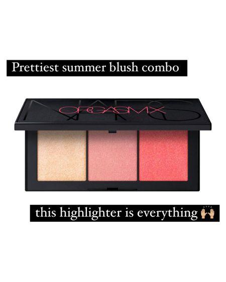 Most gorgeous blush and highlighter palette for summer, NARS Orgasm X palette 🙌🏼 #liketkit #LTKbeauty @liketoknow.it http://liketk.it/3iwOf