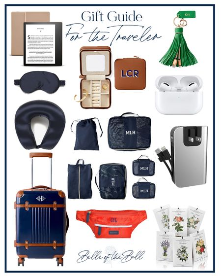 I've been traveling a bunch lately and use a bunch of these items on every trip! Perfect for someone on the go!  #LTKGiftGuide