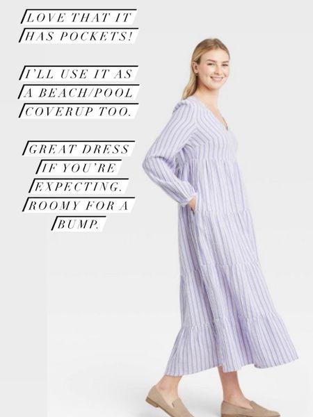 Comfy maxi dress for spring/summer #liketkit @liketoknow.it http://liketk.it/3chYr #LTKunder50