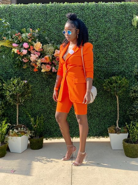 Orange is definitely the new black! 🧡   #LTKshoecrush #LTKstyletip #LTKworkwear