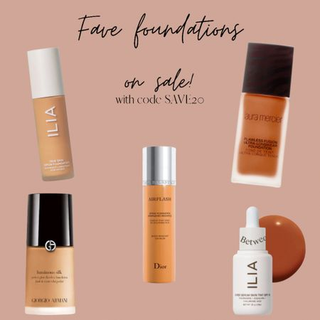 Last day to save 20% on all foundations with code SAVE20! Linked a few of my tried and true faves.   #LTKunder100 #LTKbeauty #LTKsalealert